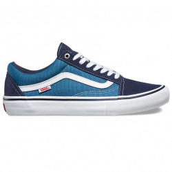 VANS SHOE OLD SKOOL PRO - NAVY