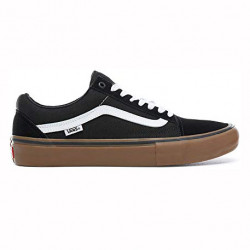 VANS SHOE OLD SKOOL PRO - BLACK WHITE GUM