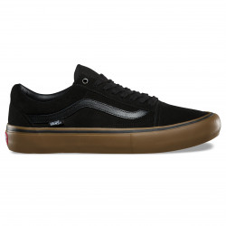 VANS SHOE OLD SKOOL PRO - BLACK GUM