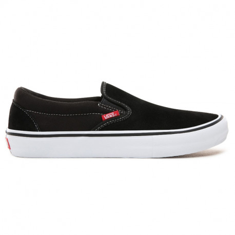 VANS SHOE SLIP ON PRO - BLACK WHITE GUM