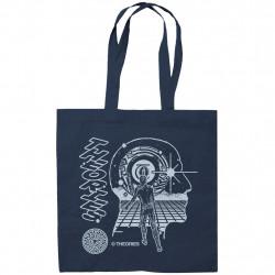 THEORIES TOTE GRIDWA - NAVY