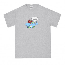 RAVE TEE ZONKED - SPORT GREY