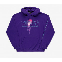 THRASHER HOODIE ATLANTIC DRIFT - PURPLE