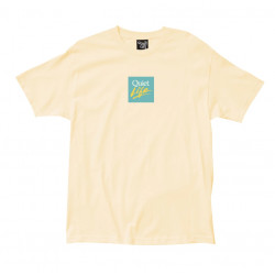 QUIET TEE MIAMI LOGO - BANANA