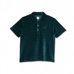 POLAR POLO STRIPE VE - DARK GREEN