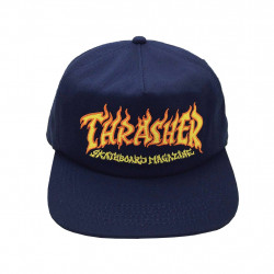 THRASHER CAP FIRE LO - NAVY