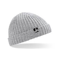 ABS BEANIE - HEATHER GREY