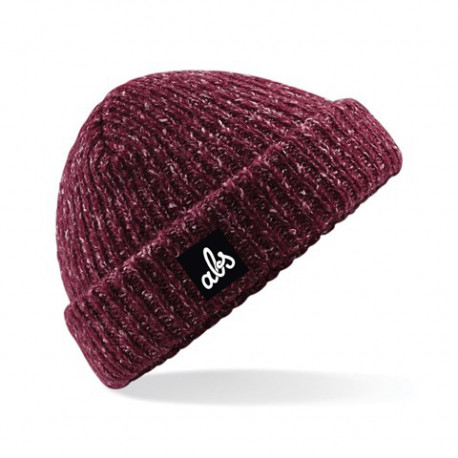 ABS BEANIE GLENCOE - HEATHER BURGUNDY