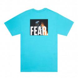 FUCKINGAWESOME TEE FEAR - TROPICAL BLUE