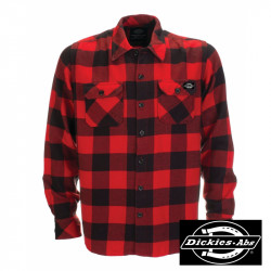 DICKIES SHIRT SACRAMENTO - ABS RED