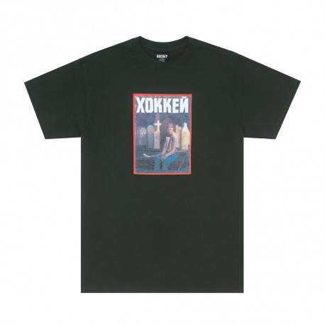 HOCKEY TEE NIK STAIN - FOREST GREEN