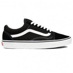 VANS SHOE OLD SKOOL PRO - BLACK WHITE