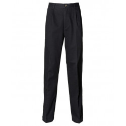 ABS PANT CHINO REGUL - BLACK