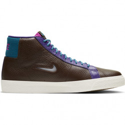 NIKE SHOE BLAZER MID - BAROQUE BROWN WHITE