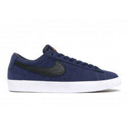 NIKE SHOE BLAZER LOW - MIDNIGHT NAVY BLACK