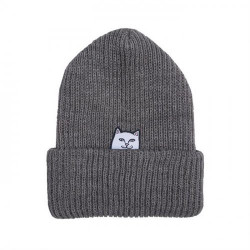 RIPNDIP BEANIE LORD - HEATHER GREY